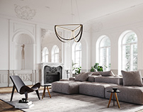AlexAllen Lighting + Furniture | Classical Apartment