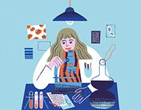 Book illustration - Sirpa Jalkanen