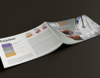 Pulmiben - Medical brochure - Illustrations and Design