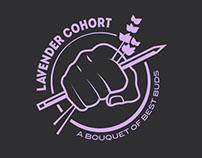 Lavender Cohort Tshirt Design