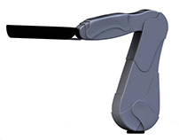 Appearance of a dynamic arm support