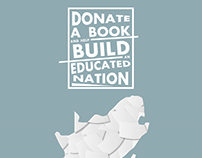 Donate a Book Drive Poster
