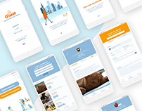 O'nest app & webdesign