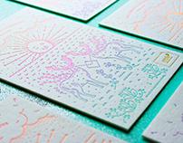 Antalis / Promo Letterpress Card
