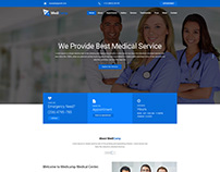 MediCamp Medical PSD Template