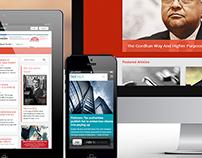 TaxTalk Website design