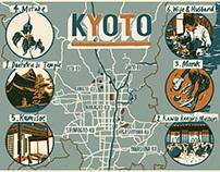 Le Monde - Kyoto Map