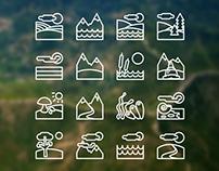 16 Landscape Icons