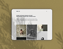 Seneca Free HTML Bootstrap portfolio download