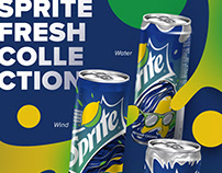 Sprite fresh collection Coca Cola Russia