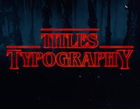 Title sequence-Typography