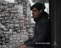 AUDIO-TECHNICA Ad Campaign