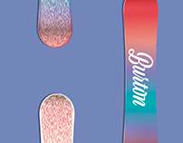 Burton wavy boards