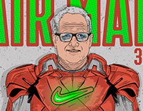 AIR MAN Tinker Hatfield