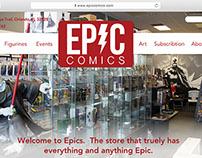 Epic Comics Website
