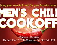Men's Chili Cook Off