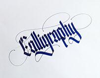 Calligraphy - Parallel pen