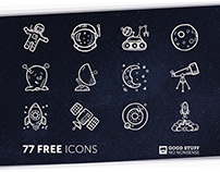 Space Icons - FREE ICON SET