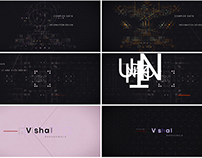 Experimental Title Sequence Design
