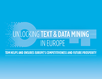 Infographic to Promote Text Data Mining in Europe