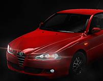 Car Smoke-Alfa Romeo