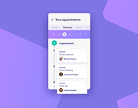 Day 499: Appointment UI Design