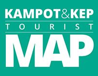 Kampot & Kep Tourist Map