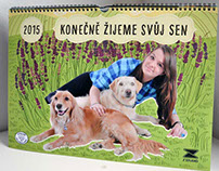 Calendar for dog shelter