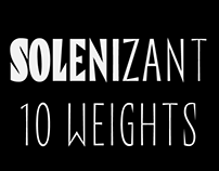 Solenizant typeface