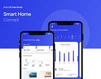 Smart Home Concept | UI/UX Case Study