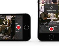 Reporter app - UI design