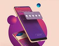 Product design (UX/UI) - anti-depression app