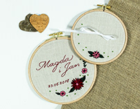 Embroidery #Wedding 02