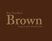 Ken Nordine's Brown: A Typographical Representation