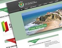 Website Junta de Freguesia de S. João das Lampas