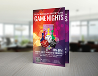 Flyer for Game Nights
