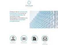 Web design - Catalyze Finance