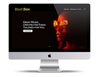 Beat.Box Website & Branding