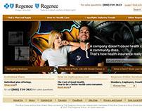 Regence Web Redesign