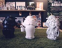 "A world tour of an exhibition named ""Hello Kongzi """