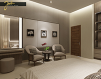 Luxury Modern Bedroom - Bali Project
