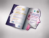 ENT 2016 conference die-cut brochure