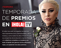 Newsletter Digital ¡HOLA! TV