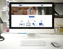 Keycloud: web design