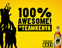 Tusker Lager Rugby Congrats Posts 2015