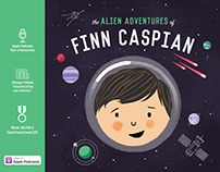 Finn Caspian Podcast Promotional Book