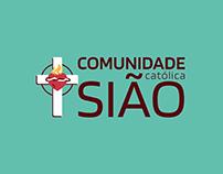 Logo Reveal Comunidade Católica Sião