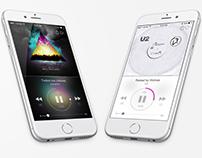 Music Player App DailyUI 009