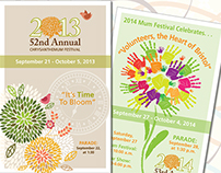 Mum Festival Brochure Covers