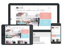 Hunny-Bunny Clothing identity, responsive webdesign